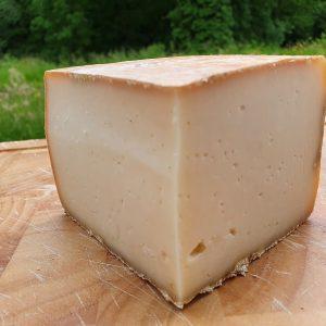 fromage fermier de chévre prêt à la vente.